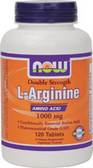 Arginine 1000 mg 120 Tabs, Now Foods