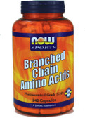Now Foods Branch-Chain Amino 240 Caps, Performance