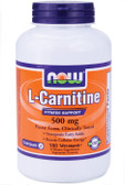 Now Foods Carnitine 500 mg 180 Caps, Fitness Support