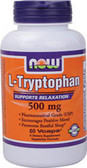 L-Tryptophan 500 mg 60 vCaps, Now Foods, Relaxation