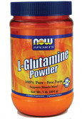 Glutamine Powder 1 LB, Now Foods, Muscle Mass