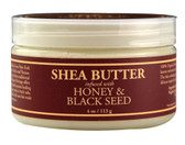 Shea Butter Infused w/Honey & Black Seed 4 oz, Nubian Heritage