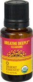 Breathe Deeply Cleansing Organic Essential Oil 0.5 oz, Desert Essence