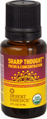 Sharp Thought Organic Essential Oil 0.5 oz, Desert Essence