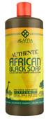 African Black Soap For All Skin & Hair Types Peppermint 32 oz, Alaffia