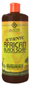 Authentic African Black Soap Eucalyptus Tea Tree 32 oz, Alaffia