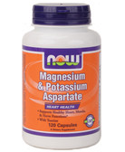 Now Foods Magnesium Potassium Aspartate 120 Caps, Heart