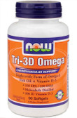 Now Foods Tri-3D Omega 3 with D-3 90 sGels