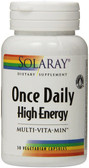 Once Daily High Energy Multi-Vita-Min 30 Caps, Solaray