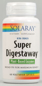 Super Digestaway Plant Enzymes 60 VCaps, Solaray