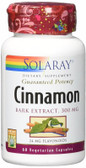 Cinnamon Bark Extract 300 mg 60 VCaps, Solaray