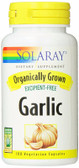 Organically Grown Garlic 100 VCaps Solaray