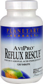AviPro Reflux Rescue 120 Tabs, Planetary Herbals
