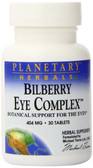 Bilberry Eye Complex 404 mg 30 Tabs, Planetary Herbals