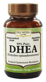 DHEA 50 mg 60 Caps, Only Natural