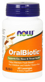 OralBiotic Blis K12 60 Loz Now Foods Reduce Bad Breath