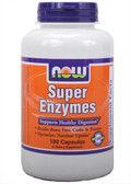 Super Enzymes 180 Caps, Now Foods, Digestive Health