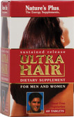 Ultra Hair Sustained Release 60 Tabs, Nature's Plus