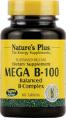 Mega B-100 60 Tabs, Nature's Plus