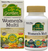 Source of Life Garden Women's Multi 90 Vegan Tabs, Nature's Plus