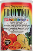 Fruitein High Protein Vegetarian Energy Shake Rainbow 1.3 lb, Nature's Plus