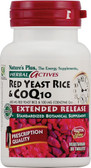 Herbal Actives Red Yeast Rice & CoQ10 30 Veggie Tabs, Nature's Plus