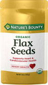 Organic Flax Seeds Cold Milled 15 oz, Nature's Bounty