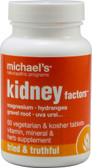 Kidney Factors 60 Veggie Tabs, Michael's Naturopathic Programs