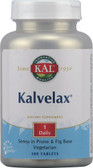 Kal Kalvelax Herbal Laxative 100 Tabs, KAL