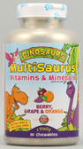 Kal Dinosaurs MultiSaurus Berry Grape & Orange 90 Chews, KAL