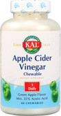 Apple Cider Vinegar 500 mg 60 Chews, KAL