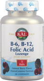 B-6 B-12 Folic Acid Berry 60 Loz, KAL