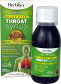 Throat Syrup w/Stevia 5 oz, Herbion