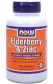 Elder-Zinc 30 Loz, Now Foods,w/ Elderberry Extract, Immune Defense