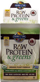 RAW Protein & Greens Chocolate Cacao 10 Pkts, Garden of Life