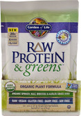 RAW Protein & Greens Real Raw Vanilla 10 Pkts, Garden of Life