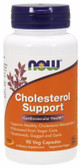Cholesterol Support 90 vCaps Now Foods