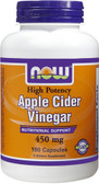 Apple Cider Vinegar 450 mg 180 vCaps, Now Foods, Diet