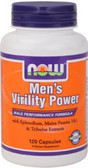 Mens Virility Power 120 Caps, Now Foods Supplement