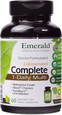 One A Day Complete Multi Vit-A-Min 60 Vegetable Caps, Emerald Labs