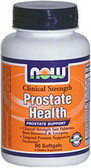 Prostate Health Clinical Strength, 90 Softgels Now Foods