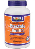 Clinical Strength Prostate Health with Saw Palmetto 180 sGels Now Foods
