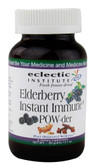 Elderberry Instant Immune Powder 60 g, Eclectic Institute