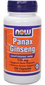 Panax Ginseng 520 mg 100 Caps Now Foods, Energy