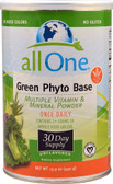Green Phyto Base Multiple Vitamin & Mineral Powder 15.9 oz, All One Nutritech