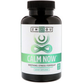 Calm Now Soothing Stress Formula, 60 Veggie Caps Zhou