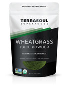 Organic Wheat Grass Juice Powder 5 oz Terrasoul Superfoods
