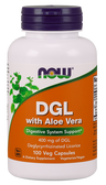 DGL 400 MG with Aloe 100 Veggie Caps Now Foods