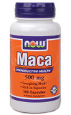 Maca 500 mg 100 Caps Now Foods, Reproduction, Energizer