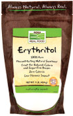 Erythitol Pure Sweetener 1 LB, Now Foods